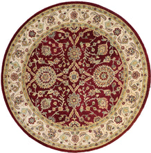 "Load image into Gallery viewer, 6'1""x6'1"" Decorative Red Wool Hand-Tufted Rug - Direct Rug Import 