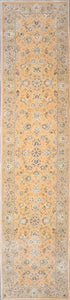 "2'8""x11'7"" Decorative Tabriz Wool & Silk Hand-Tufted Rug - Direct Rug Import 