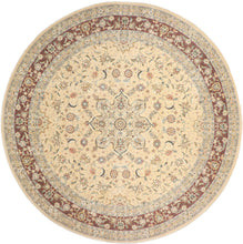 "Load image into Gallery viewer, 9'11""x9'11"" Decorative Round Wool & Silk Rug - Direct Rug Import 