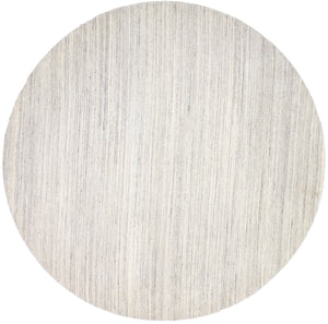 9'x9' Modern Round Wool Gray Hand-Tufted Rug - Direct Rug Import | Rugs in Chicago, Indiana,South Bend,Granger