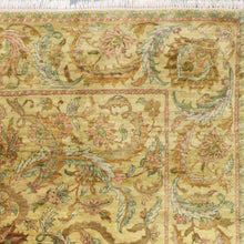 "Load image into Gallery viewer, 8'x9'111"" Decorative Gold Wool Hand-Knotted Rug - Direct Rug Import 