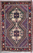 "Load image into Gallery viewer, 4'x6'4"" Traditional Wool Hand-Knotted Rug - Direct Rug Import 