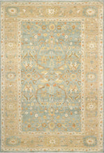 Load image into Gallery viewer, 6'x9' Traditional Teal Wool Hand-Knotted Rug - Direct Rug Import | Rugs in Chicago, Indiana,South Bend,Granger