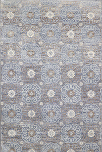 6'x9' Decorative Gray Wool Hand-Knotted Rug - Direct Rug Import | Rugs in Chicago, Indiana,South Bend,Granger
