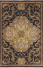 Load image into Gallery viewer, 5'x8' Traditional Tan Wool Hand-Knotted Rug - Direct Rug Import | Rugs in Chicago, Indiana,South Bend,Granger