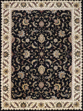 "Load image into Gallery viewer, 8'6""x11'6"" Traditional Black Wool Hand-Tufted Rug - Direct Rug Import 