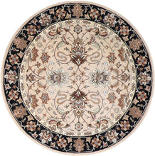 Load image into Gallery viewer, 6'x6' Decorative Taupe Wool & Silk Hand-Tufted Rug - Direct Rug Import | Rugs in Chicago, Indiana,South Bend,Granger
