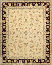 "Load image into Gallery viewer, 7'11""x9'11"" Traditional  Tabriz Wool & Silk Hand-Tufted Rug"