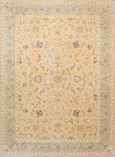 "Load image into Gallery viewer, 8'x10'11"" Traditional Tabriz Wool & Silk Hand-Tufted Rug"