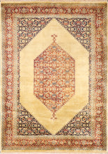 "Load image into Gallery viewer, 5'8""x7'11"" Decorative Tan Wool Hand-Knotted Rug - Direct Rug Import 