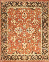 "Load image into Gallery viewer, 8'3""x10'4"" Classic Traditional Wool Hand-Knotted Rug - Direct Rug Import 