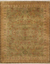 Load image into Gallery viewer, 8'x10' Decorative Green Kashan Wool Hand-Knotted Rug - Direct Rug Import | Rugs in Chicago, Indiana,South Bend,Granger