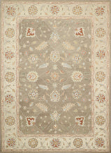 "Load image into Gallery viewer, 8'1""x11'2"" Decorative Brown Hook Wool Hand-Knotted Rug - Direct Rug Import 