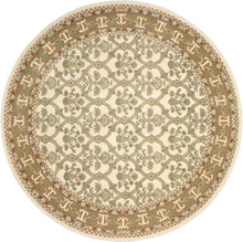 "Load image into Gallery viewer, 8'1""x8'1"" Decorative Round Wool Hand-Tufted Rug - Direct Rug Import 