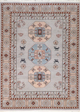 "Load image into Gallery viewer, 8'3""x11'2"" Transitional Gray Tibetan Wool Hand-Tufted Rug - Direct Rug Import 