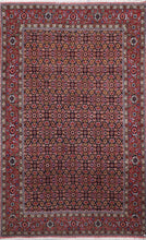 "Load image into Gallery viewer, 4'4""x7'2"" Traditional Persian Bidjar Red Wool Hand-Knotted Rug"