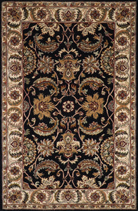 "5'6""x8'7"" Traditional Kashan Wool Hand-tufted Rug"