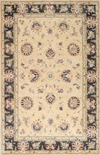 "Load image into Gallery viewer, 5'8""x8'10"" Traditional Kashan Wool Hand-Tufted Rug"