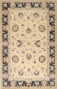 "5'8""x8'10"" Traditional Kashan Wool Hand-Tufted Rug"