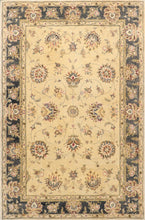 "Load image into Gallery viewer, 5'9""x9' Traditional Kashan Wool Hand-Tufted Rug"