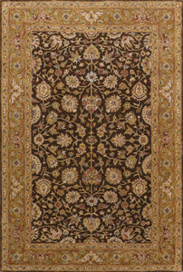 "5'7""x8'5"" Traditional Wool Hand-Tufted Rug"