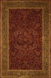 "5'5""x8'5"" Traditional Wool Hand-Tufted Rug"