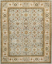 "Load image into Gallery viewer, 8'1""x10'2"" Traditional Wool & Silk Hand-Tufted Rug"