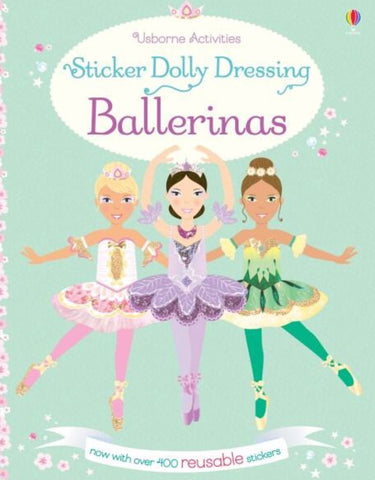 Usborne Sticker Dolly Dressing Ballerinas