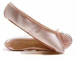 Katz Full Sole Satin Ballet Shoes