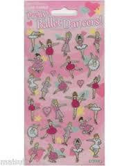 Pretty Ballet Dancers Stickers