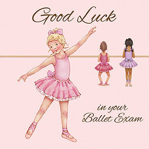 LBGC-12 Card: Good Luck Greeting Card