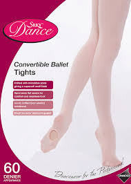 Silky Convertible Ballet Tights