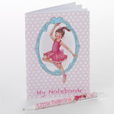 Little Ballerina Mini Notebook & Pen Set