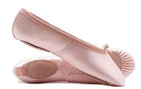 Katz Split Sole Satin Ballet Shoe