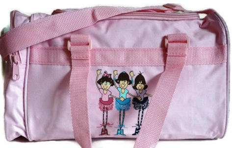 3 Ballerinas Dance Holdall Bag