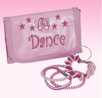Pink Dance Purse Keyring UG355