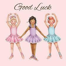 LBGC-10 Card: Good Luck Greeting Card