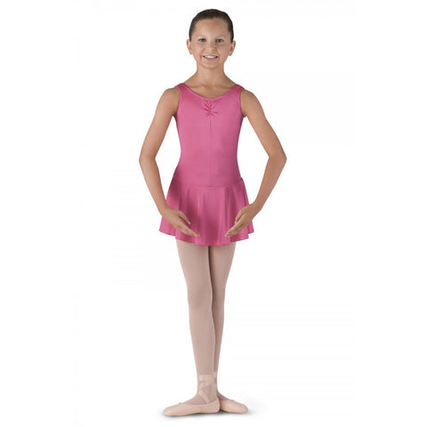 BU902C Bloch Girls Skirted Tank Leotard