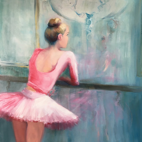 'Dancer in Pink' Artwork
