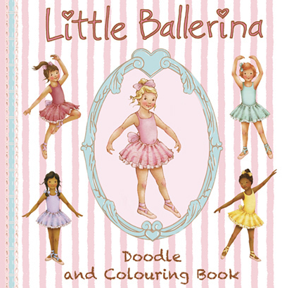 Little Ballerina Doodle and Colouring Book