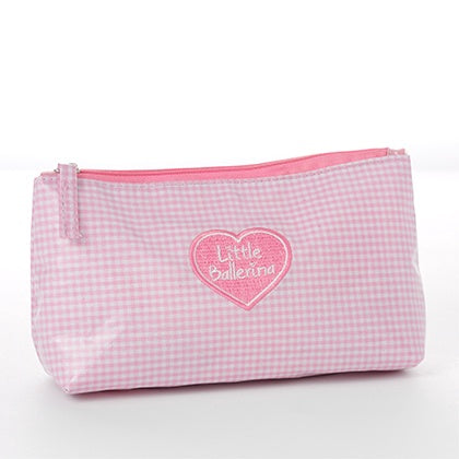 WB001-5 Little Ballerina Wash/Hair Bag