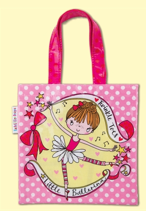 Mini Tote Bag Little Ballerina