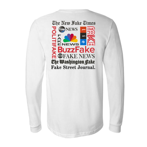 """Fake News"" LONG SLEEVES Unisex T-Shirt Get yours now!"