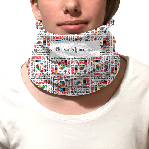 Fake News YOUTH AND ADULT NECK WARMER