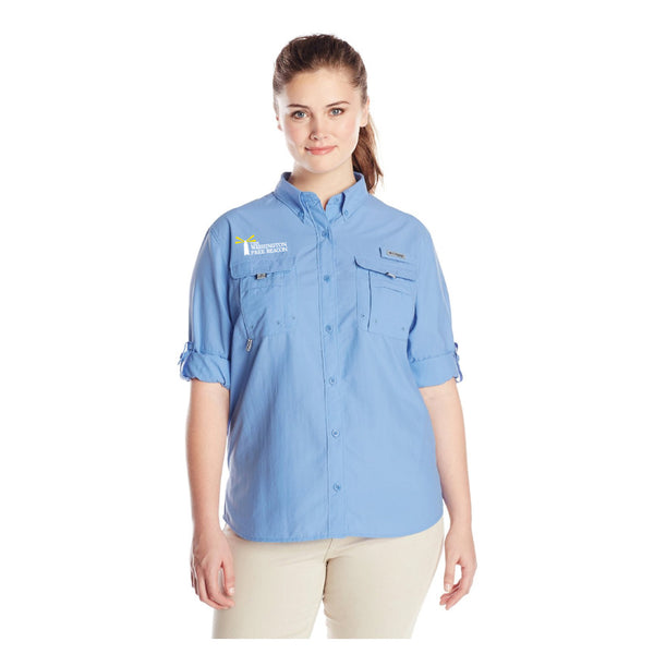 Columbia Ladies' Bahama Long Sleeve Fishing Shirt - MULTIPLE COLORS AVAILABLE!