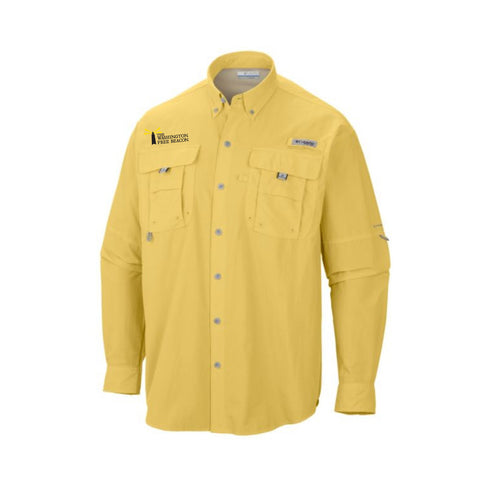 Columbia Mens Bahama II Long Sleeve Fishing Shirt - MULTIPLE COLORS AVAILABLE!