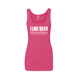 """Do you like beer?"" Free Beacon Podcast Ladies Tank Top"