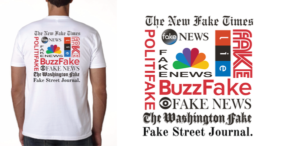 """Fake News"" Unisex T-Shirt Get yours now!"