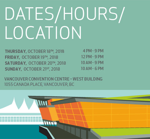 We Will Be At The Vancouver Home And Design Show!