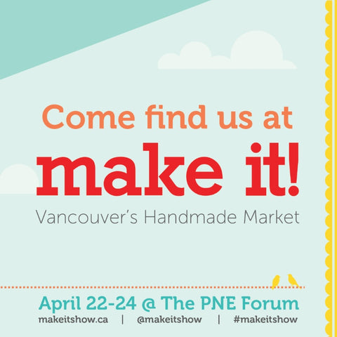 Le fil rouge Textiles at Make it Show Vancouver